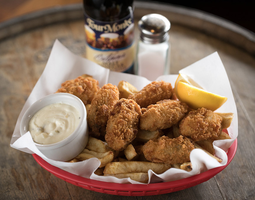 Oysters & Chips